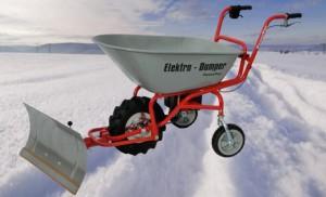ED120 mit Schneeschild